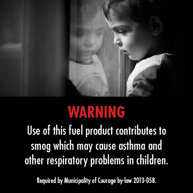 Warning label: Asthma