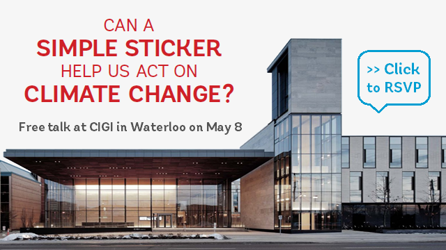 Talk at CIGI Waterloo - May 8